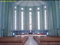 Catholic church Vinhlong Vietnam